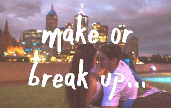 Christian French - make or break up lyrics