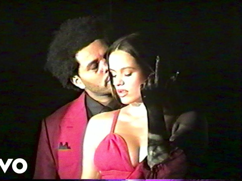 The Weeknd - Blinding Lights (with ROSALÍA) - Remix Lyrics