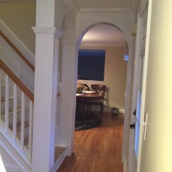 Kitchen Cabinets Crown Molding Country Style Table Foyer Design - Designs By Nj Llc