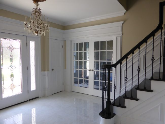 Foyer Design  Foyer Designs by Crown Molding NJ LLC