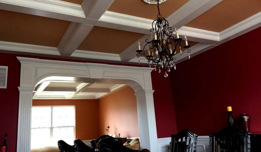 Cofer ceiling  Crown Molding NJ LLC