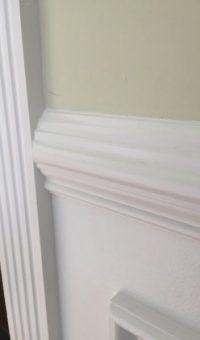 ES7 chair rail wainscoting
