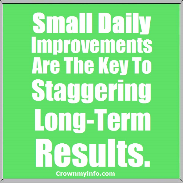 Daily Improvement
