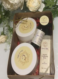 Crown of Glory Gift Box natural hair care