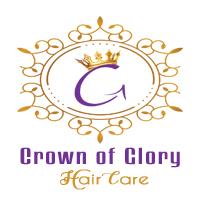 crown of glory logo hair care natural oils creams