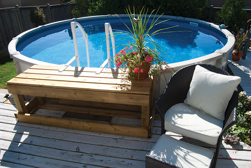 above ground swimming pools crown