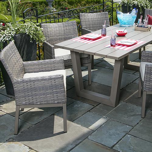 elizabeth outdoor dining collection crown spas pools