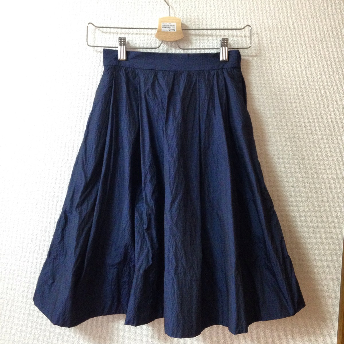 スカート(形状記憶加工のタフタ)