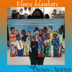 Black Boy, Black Boy Fleece Blanket