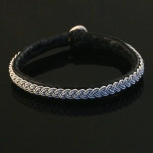 Pewter Thread Single Braid