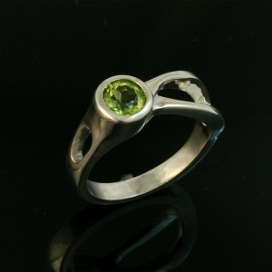 Two River Ring - Peridot