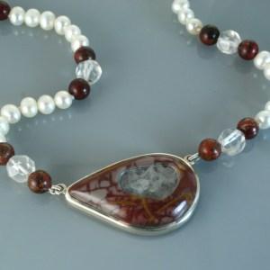 Noreena jasper pendant