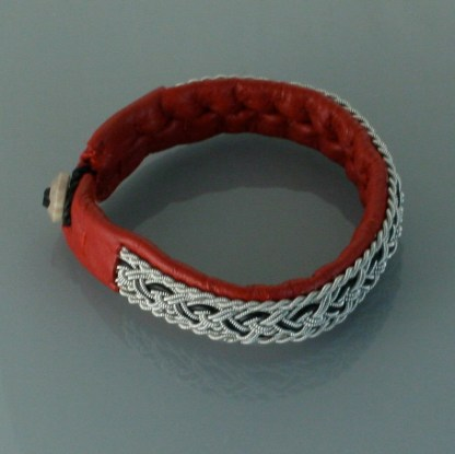 Pewter Thread Bracelet