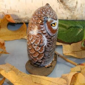 Grey Horned Owl