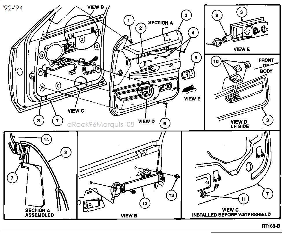medium resolution of how to remove the inside door panel on a 1997 ford f350 96 ford ranger door panel removal 96 ford explorer door panel removal