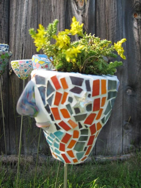 Beautiful Mosaics Mosaic Vase And Art