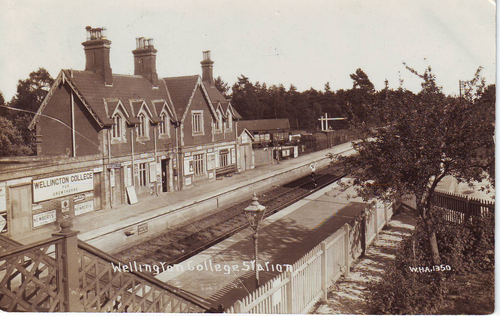 Wellington College Station: W.H.A.1350