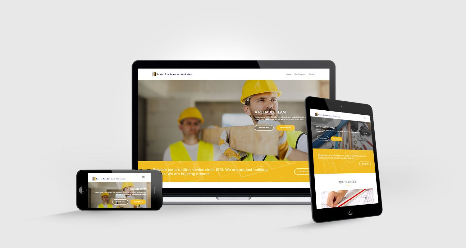 3 Page Website £300
