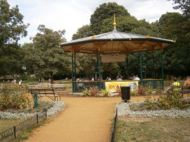 bandstand bench