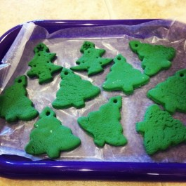 Salt Dough ornaments for Christmas!