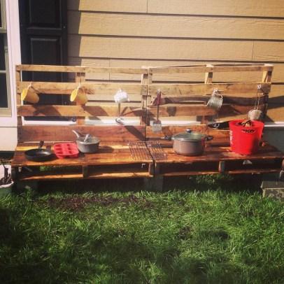 Outdoor Mud Kitchen