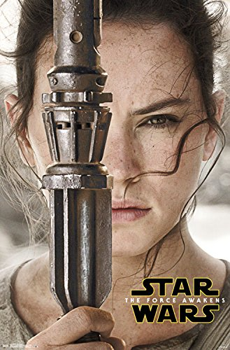 The Force Awakens: Rey Portrait