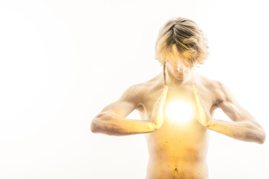 Character Performing Magic