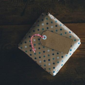 gift-wrapped magic workbook