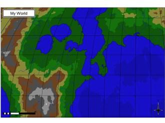Fractal Terrains Map