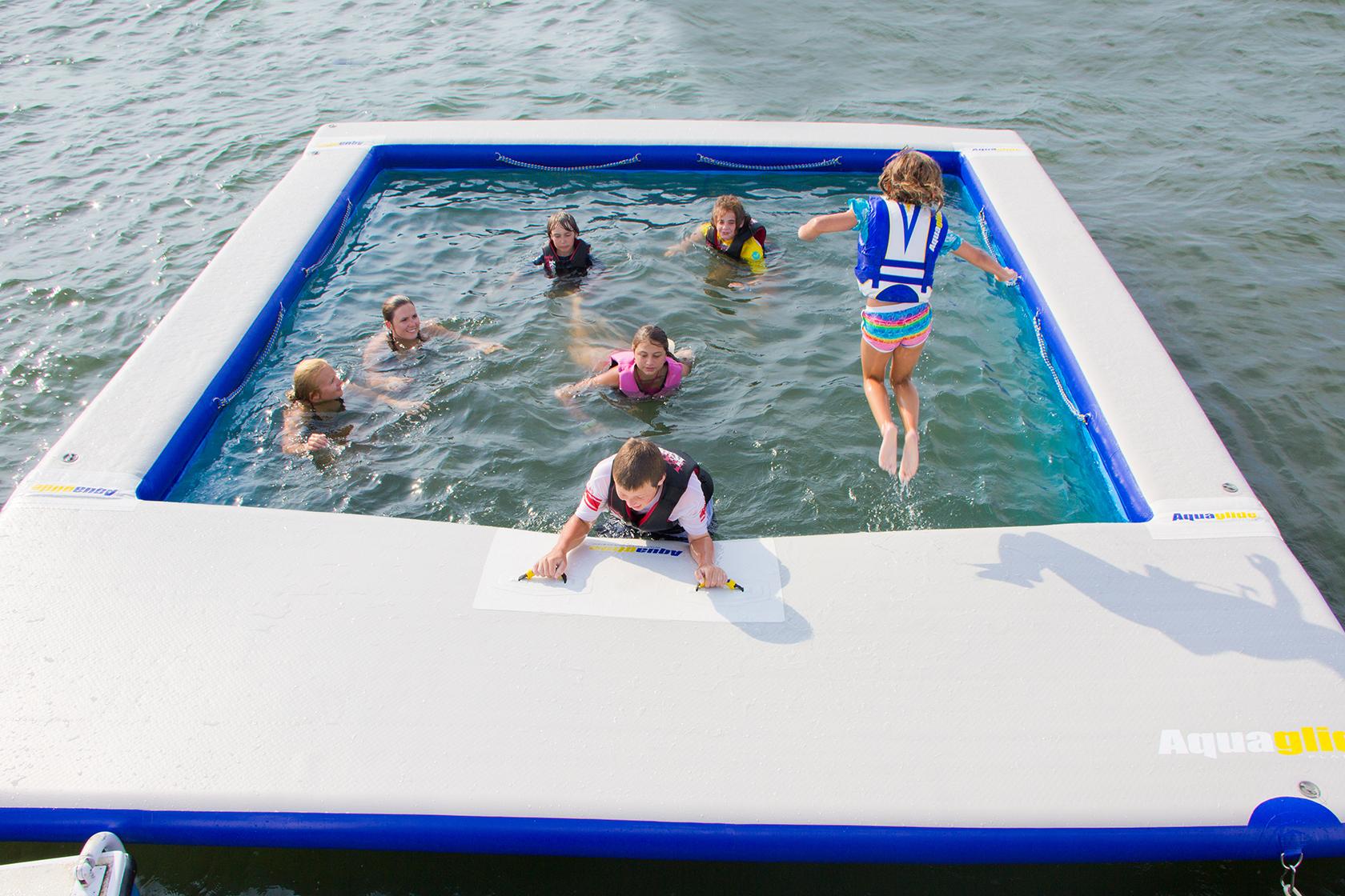 Aquaglide Ocean Pool  Commercial Recreation Specialists