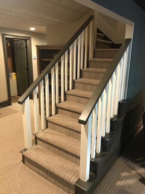 Sherwin Williams Roswell : sherwin, williams, roswell, Staircase, Media, Interior, Painting, Project, Roswell, 30075