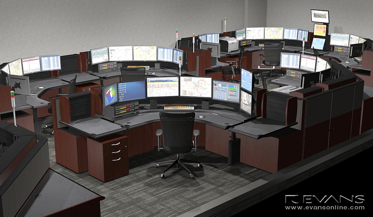 Custom single operator consoles