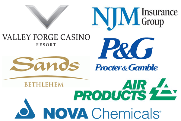Logos for commercial clients