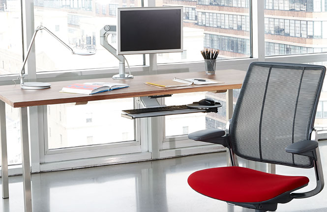 Humanscale offers ergonomic accessories for all types of workstations