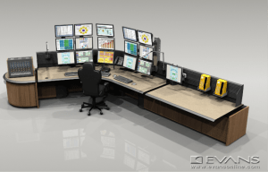 Custom consoles design to adapt to your control room