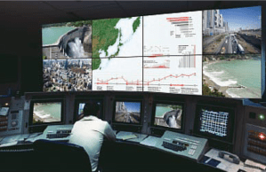 Mitsubishi display walls for control rooms