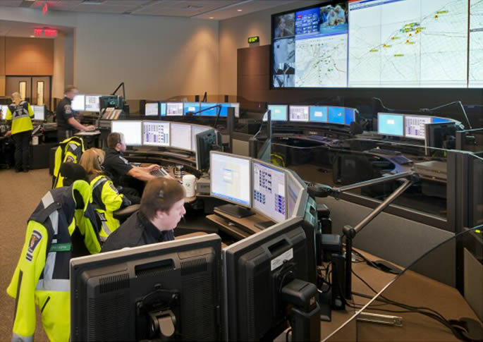 Jupiter emergency operations center display