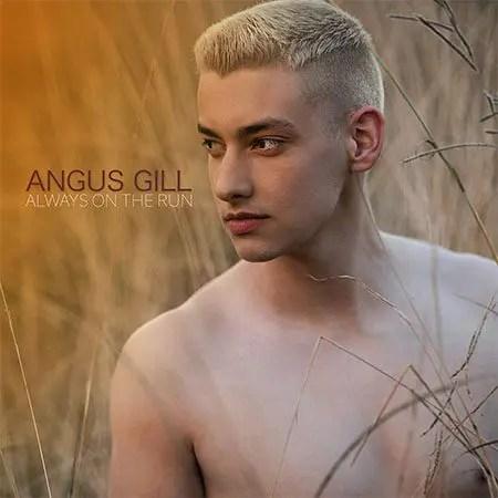 5DD606 - Angus Gill - Always On The Run - Cover