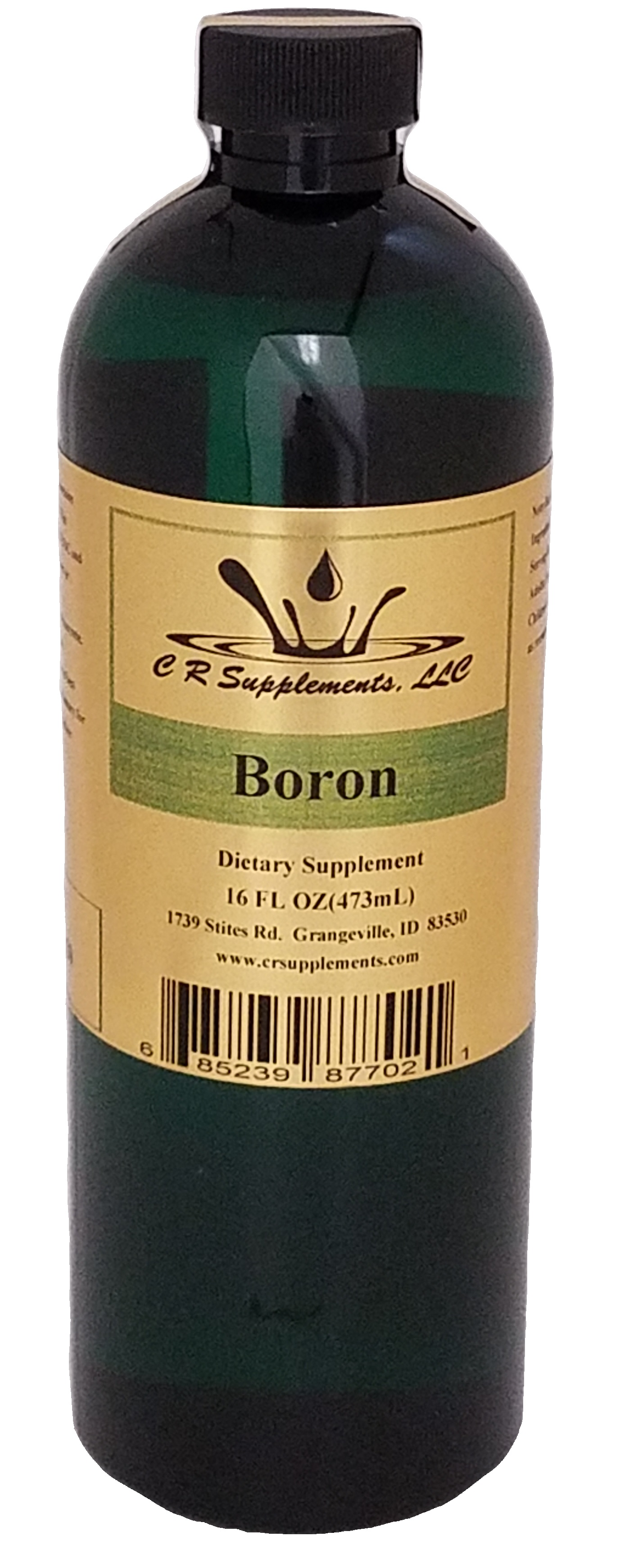 Boron Dietary Supplement, Boron, WaterOz Boron Replacement, Liquid dietary supplement, Kosher of America approved, KOA approved, Pareve, vegan application, elemental mineral, flexible liquid mineral, maximum absorption