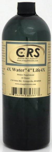"Water ""4"" Life 4x Dietary Supplement"