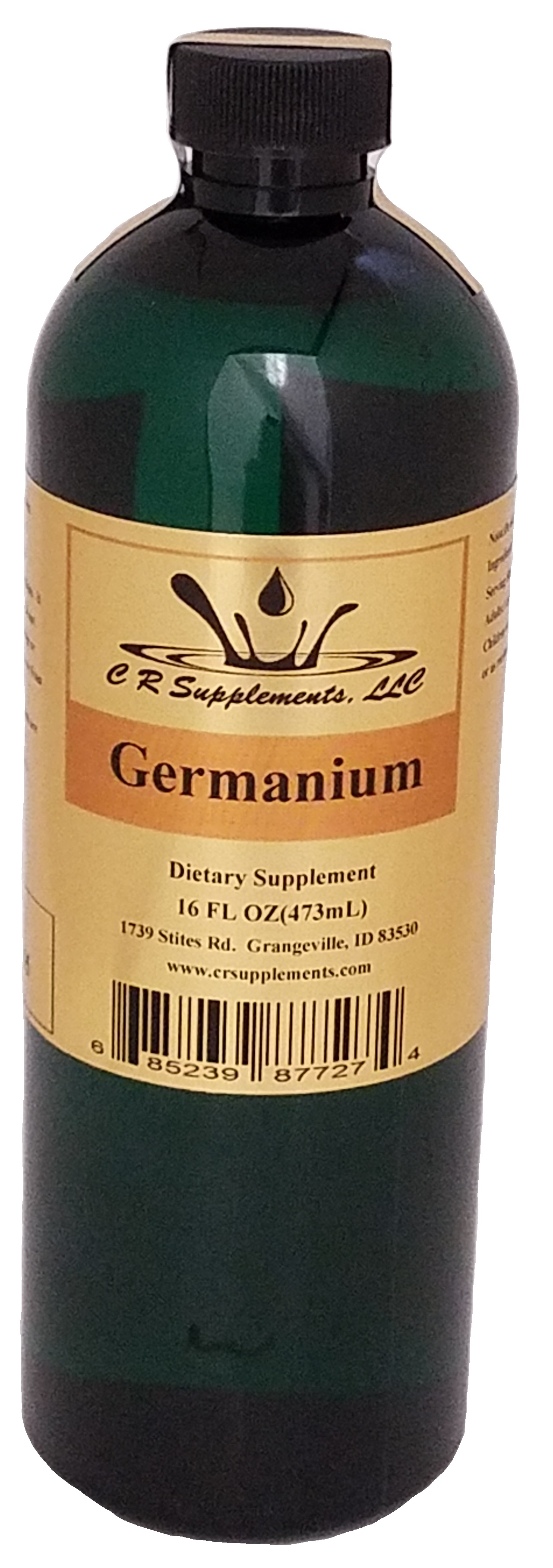 Germanium Dietary Supplement, Germanium, WaterOz Germanium Replacement, Liquid dietary supplement, Kosher of America approved, KOA approved, Pareve, vegan application, elemental mineral, flexible liquid mineral, maximum absorption