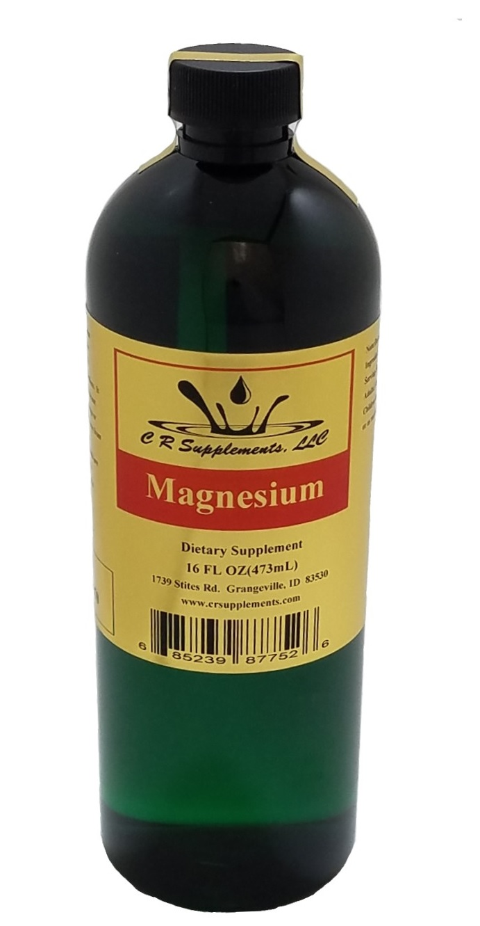 Magnesium Dietary Supplement, Magnesium, WaterOz Magnesium Replacement, Liquid dietary supplement, Kosher of America approved, KOA approved, Pareve, vegan application, elemental mineral, flexible liquid mineral, maximum absorption