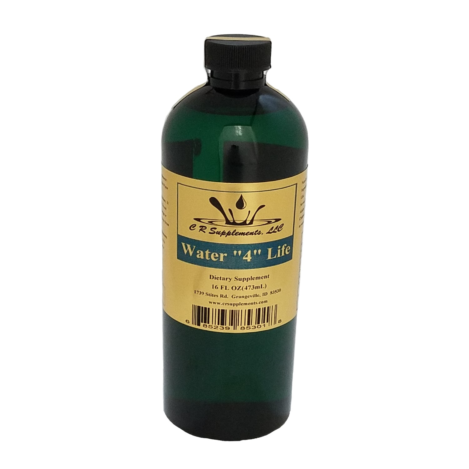 Water 4 Life Dietary Supplement, Water 4 Life, WaterOz Water 4 Life Replacement, Liquid dietary supplement, Kosher of America approved, KOA approved, Pareve, vegan application, elemental mineral, flexible liquid mineral, maximum absorption