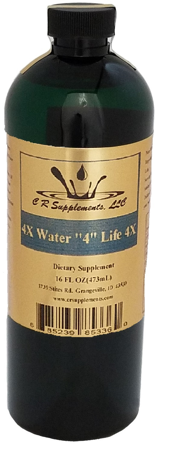 Water 4 Life 4x Dietary Supplement By C R Supplements, LLC