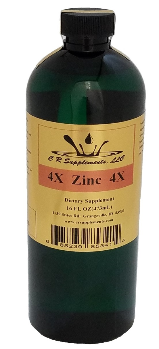 Zinc 4x Dietary Supplement