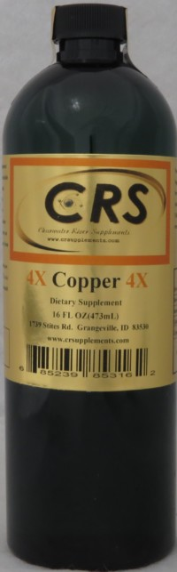 Copper 4x Dietary Supplement