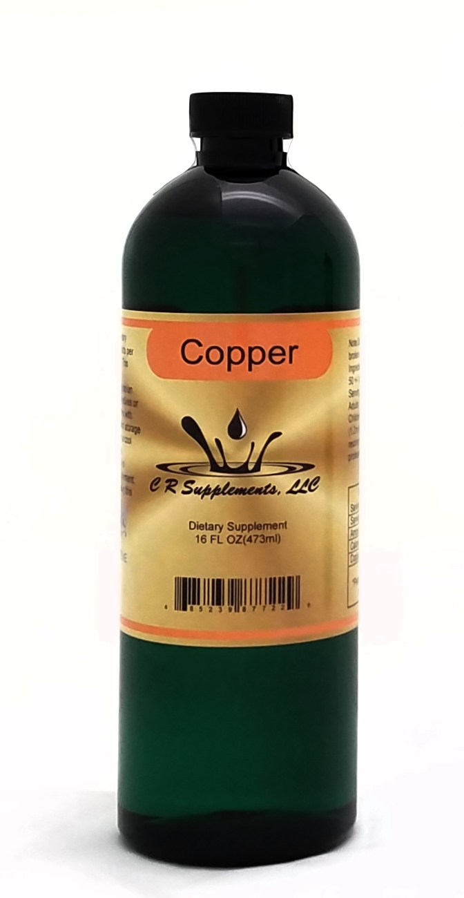 Copper Dietary Supplement By C R Supplement, LLC