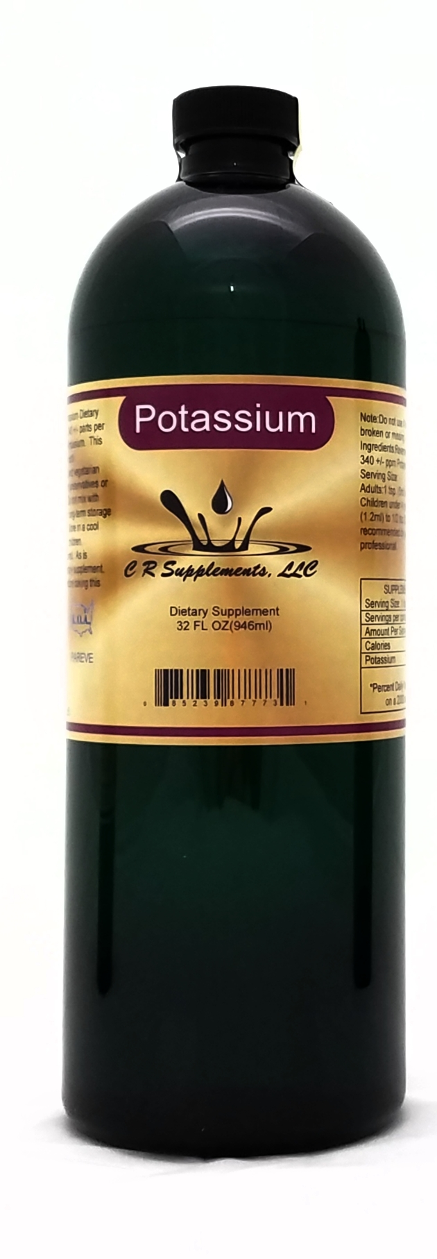 Potassium By C R Supplements, LLC
