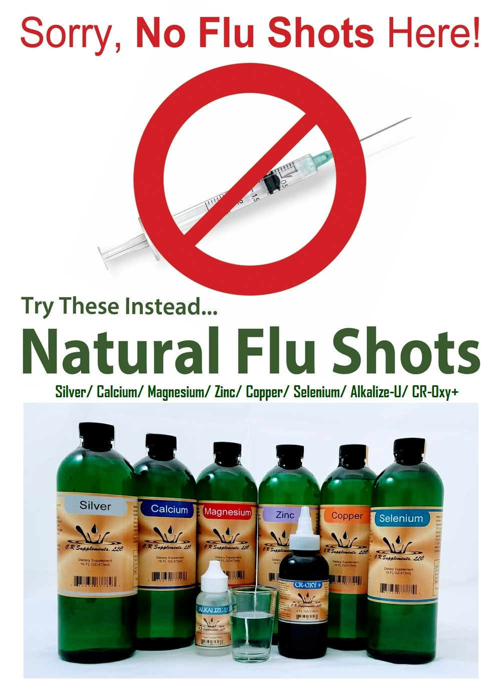 Flu Shot or Mineral Shot?