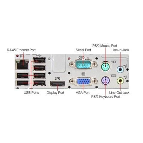HP 8200 Ports